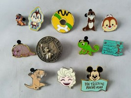 Disney Trading Pins Official Animals Theme & Bonus Misc. Lot of 12 - $31.38