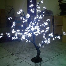 0.8 M  height LED Cherry Blossom Tree Outdoor Wedding Garden Holiday Light white - $159.00