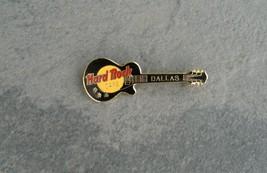 Hard Rock Cafe Dallas 1990's Les Paul Black Guitar Pin - $9.80