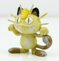 """Pokemon TOMY CGTSJ 1.5"""" Meowth Persian Vintage PVC Figure 90's Kanto Authentic  - $14.49"""