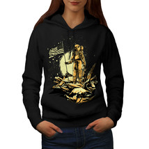 Astronaut Moon Land Sweatshirt Hoody Space Women Hoodie - $21.99+