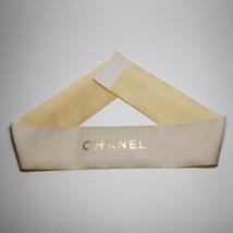 CHANEL Golden Ribbon. Decorative Ribbon. 26.77 inch long. - $9.99