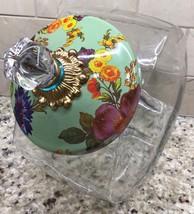 MacKenzie-Childs Flower Market Cookie Jar - GREEN - $123.75