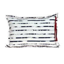"20"" x 6"" x 14"" Nautical White Pillow Cover With Down Insert - $78.34"