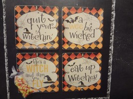 Halloween 4pc. Dessert Plate Set - $14.45