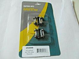 Rapido # 102099 Freight 40-Ton ARA Trucks HO Scale image 3