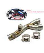 Motorcycle Link Original Exhaust Muffler Pipe Silencer System For Yamaha... - $110.90