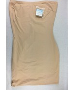 Assets Red Hot Spanx Sleek Slimmers Strapless Full Slip Beige/Nude Size 1X - $23.36