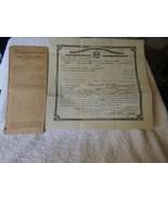 1916 Boston Mass 11pc LOT Naturalization Papers Patrick Reynolds 3 Irish... - $54.45