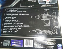 AIR HOGS RC F-16 FALCON FIGHTER RADIO CONTROL AIRPLANE (TARGET EXCLUSIVE) image 2