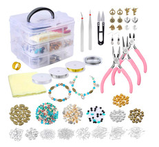 Jewelry Making Starter Kit Jewelry Making Supplies Jewelry Crafting Kit - $51.99