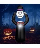 Self Inflating Halloween Skull with internal LED Bulbs - $48.93