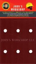 RYOBI P440 - 1/4 Sheet - 2000 Grit - PrePunched - 5 Sandpaper Bundle - $7.49