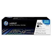 HP CB540AD No 125A Toner Cartridges - 2-Pack - Black - $130.62