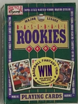 MAJOR LEAGUE BASEBALL 1992 ROOKIES Playing Cards, Brand New - $5.95