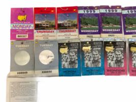 Lot of Vintage Masters Tournament Ticket Collection 1997-2003 Augusta Ephemera image 4