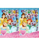 Disney Princess - Includes Puffy Stickers 4 Sheet Sticker Book (Set of 2)  - $12.86