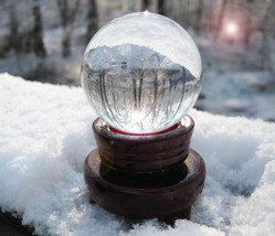 Haunted Free With $99 27X Coven Cast Crystal Ball Magick Witch CASSIA4 - $0.00