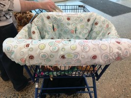 #    Baby Toddler Child Shopping Cart High Chair Cover - $10.00