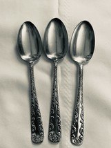 "Set of 3 Majestic Rogers and Hamilton 1893 Silverplate Tablepoon 7"" - $26.90"