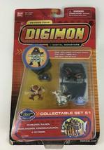 Digimon Season Four Collectable Set 51 PVC Figure Set Kendogarurumon Bandai New - $74.20