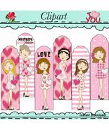 Miss Valentines Bookmarks  - $1.35