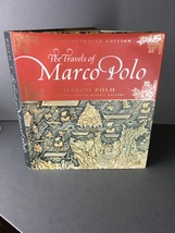 Travels of Marco Polo  2012 Decorated Book Classic Book Travelog Silk Road - $19.80