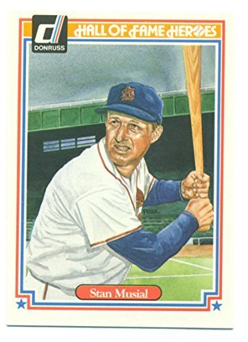 1983 Donruss Hall of Fame Heroes Stan Musial #32 - Baseball Card
