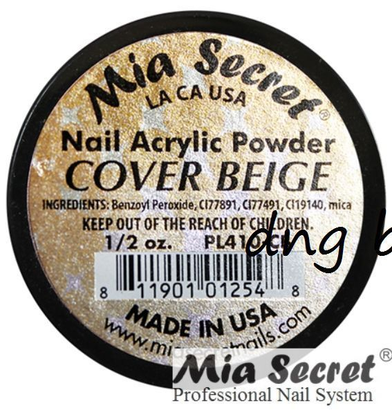 Mia Secret Acrylic Powder - Cover Pink, Cover Rose, Cover Beige *MADE IN USA*