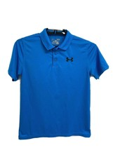 Under armour youth kids polo shirt short sleeve blue size YLG/JG/G - $16.28