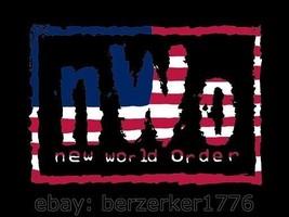 NWO New World Order USA Wrestling 3'x5' flag banner - WCW, WWF, WWE USA Seller - $25.00