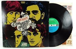 The Rascals, Time Peace Greatest Hits 1968 LP Record Atlantic SD 8190 St... - $8.91