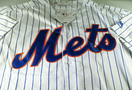 PETE ALONSO / NEW YORK METS / AUTOGRAPHED METS PRO STYLE BASEBALL JERSEY / COA image 2