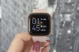 Fitbit Versa 2 - Smart Fitness Watch - Only the tracker - Copper Rose - $84.99