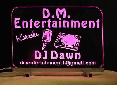 Personalized DJ Karaoke LED Bar Sign  image 2