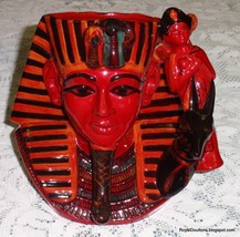 **ULTRA RARE** Royal Doulton The Pharaoh Figurine D7028 Toby Character Jug - $581.03