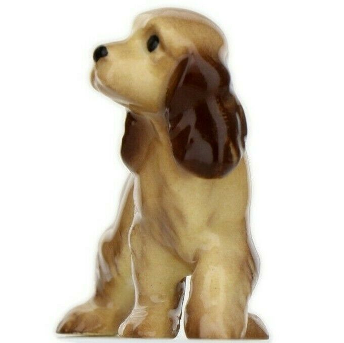 Hagen Renaker Miniature Dog Cocker Spaniel Papa Ceramic Figurine