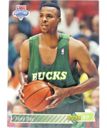1992 Upper Deck Milwaukee Bucks #205 Frank Brickowski NBA Draft - $3.95