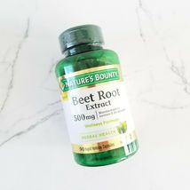 Nature's Bounty Beet Root Extract 500mg 90 rapid Release Capsules - $62.72