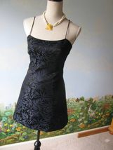 be be Moda Black / Blue Floral Cocktail Dress SZ 2 - $34.64