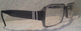 Calvin Klein CK844 Unisex Prescription Eyeglasses Frames Gray #091 Italy - $22.32