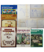 Book Bundle: Wood Working & Craft Projects Wood Burning Garden Projects  - $14.97