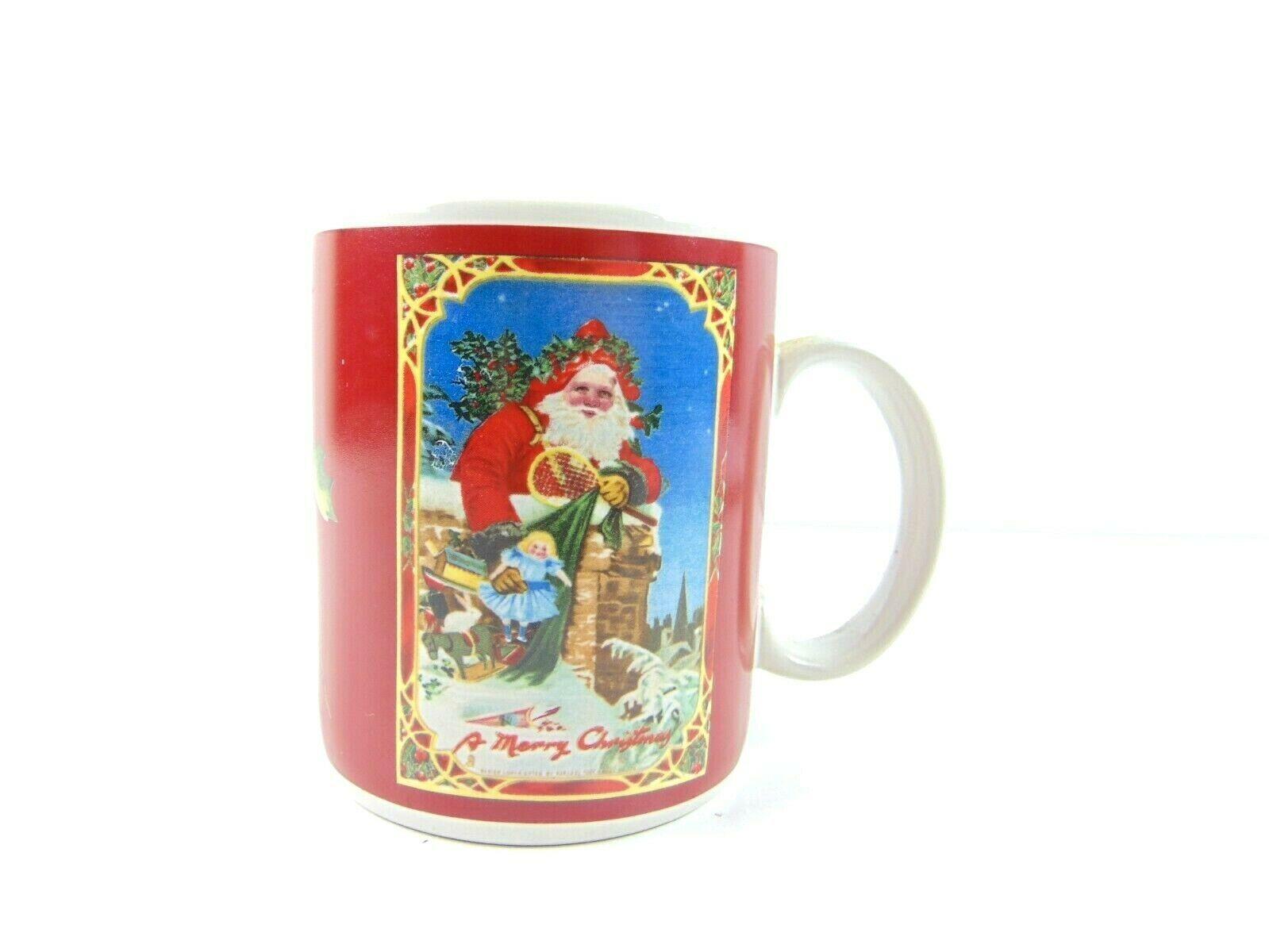 Enesco Imports Gifted Line 1986 A Merry Christmas Coffee Mug - $23.75
