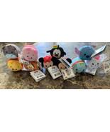 Tsum Tsum Mini Plush Authentic Disney Lot Of 10 Mickey,Minnie,Pooh - $39.59