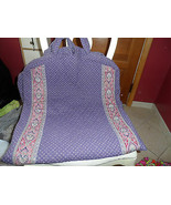 Vera Bradley retired extra long garment in Spring Violet pattern Indiana... - $82.00