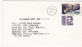 F-16B CREW ESCAPE TEST HOLLOMAN AIR FORCE BASE, FL FEBRUARY 28, 1976 - $1.98