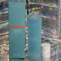 NEW IN BOX *Sealed* Peach & Lily The Good Acids Pore Toner AHA & Turmeric FullSz image 1