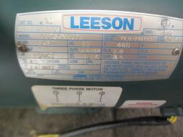 LEESON C6T34NK17B ELECTRIC MOTOR 3450 rpm 460v 2hp New  image 2