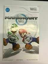 NINTENDO WII  Mario Kart Manual Booklet Instructions Only- Fast Ship - $4.46