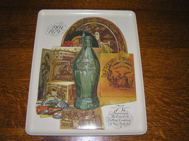 Vintage 75th Anniversary Coco-Cola Bottling Co Plastic Tray Platter - $12.19